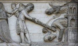 Beheading of St. John the Baptist Royalty Free Stock Images