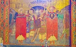 The beheading of St John the Baptist Royalty Free Stock Photography