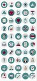 Beheer en Marketing Pictogrammen Stock Illustratie