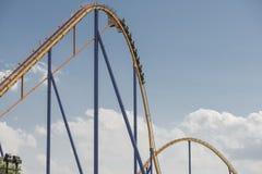 Behemoth roller coaster royalty free stock image