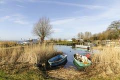 Beherbergten Sie in Zempin auf der Insel von Usedom stockfoto
