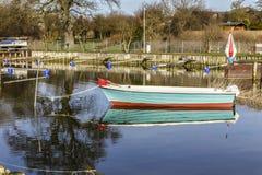 Beherbergten Sie in Zempin auf der Insel von Usedom lizenzfreies stockbild