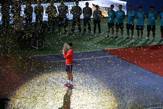Beherrscht Shanghai Atp 2015 1000 Lizenzfreies Stockbild