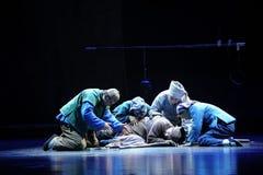 BehestJiangxi opera en besman Royaltyfri Fotografi