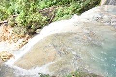 Behewa`s Waterfall Nabire Papua Indonesia stock photography