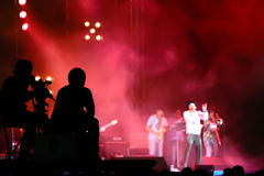 Behide η συναυλία Στοκ Εικόνες