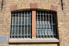 Behind bars Royalty Free Stock Image