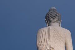 Behind big buddha. Big buddha in phuket,thailand Royalty Free Stock Images