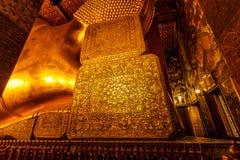 Behind the big corner. Corner behind the Big Buddha at Wat Pho in Bangkok royalty free stock photos