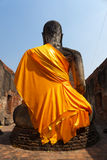 Behind of Buddha Royalty Free Stock Image