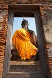 Behind of Buddha Stock Photos