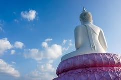 Behind Buddha statue Stock Photos