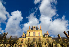 Behind the Chateau Fontainebleau Royalty Free Stock Images