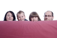 Behind couch Royalty Free Stock Photos