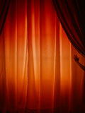 Behind the curtain stock images