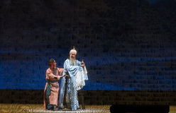 "Behind the curtains-Shanxi Operatic""Fu Shan to Beijing"" Royalty Free Stock Image"