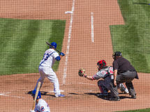 Behind Home Plate Stock Photography