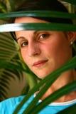 Behind leaf Royalty Free Stock Photos