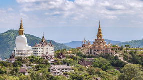 Behind of Phasornkaew Temple ,that place for meditation practice Royalty Free Stock Image