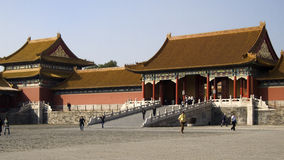 Behind the walls of the Forbidden City Royalty Free Stock Image