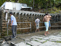 Behind the walls of Muktinath temple, Nepal Royalty Free Stock Photos