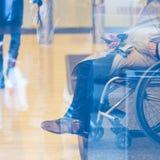 Behinderter aktiv für das Leben lizenzfreie stockfotos