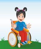 Behindertes Kind lizenzfreie abbildung