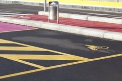 Behindertes Parken Lizenzfreie Stockfotografie