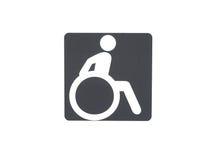 Behindertes Service-Zeichen lizenzfreies stockfoto