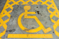 Behindertes Symbol Lizenzfreie Stockbilder