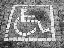 Behindertes Zeichen (26) Stockfoto