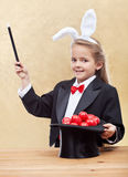 Behold the red easter eggs Stock Photos