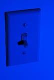 Behoudend Macht met Licht schakel uit Royalty-vrije Stock Afbeeldingen