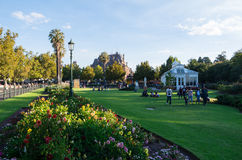 Behoudende Tuinen in Bendigo, Australië stock fotografie