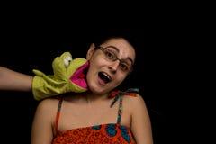 Beißende Marionette Lizenzfreies Stockbild
