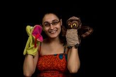 Beißende Marionette Lizenzfreies Stockfoto