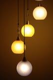 Bei ambiti di provenienza del lampadario a bracci Immagine Stock