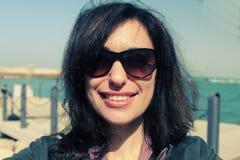 Bei 35 anni della donna Immagini Stock Libere da Diritti
