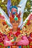 Bei ballerini delle donne di balinese in costumi tradizionali Fotografia Stock Libera da Diritti