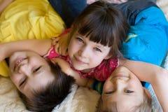 Bei bambini Fotografie Stock Libere da Diritti