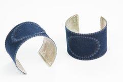 Bei braccialetti costosi Immagine Stock