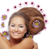 Bei capelli Fotografie Stock Libere da Diritti
