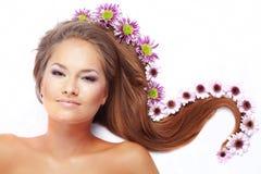 Bei capelli Immagini Stock