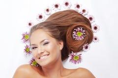 Bei capelli Immagine Stock