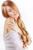 Bei capelli Fotografie Stock
