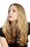 Bei capelli biondi Fotografie Stock Libere da Diritti