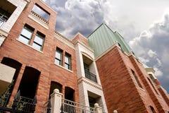 Bei condomini moderni a Phoenix Arizona Fotografia Stock