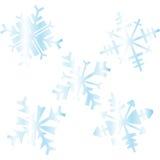 Bei cristalli della neve Royalty Illustrazione gratis
