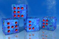 Bei cubi illustrazione di stock