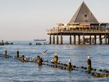 Bei de la tarde el mar Imagen de archivo libre de regalías